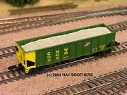 Hay Brothers Gravel / Ballast Load - Fits Athearn Roundhouse 40' Hoppers