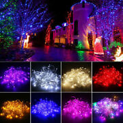 Waterproof 10m - 100m Led Christmas Tree String Lights Party Garden Decor Lamp S