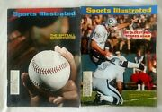 Vintage Sports Illustrated Lot Of 25 Various Issues 1967-1976