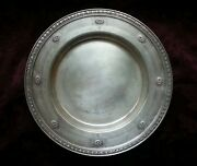 J.e. Caldwell And Co. Philadelphia Sterling Silver Round Platter