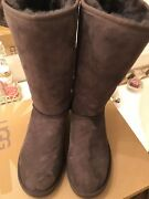 Ugg Womens Boots Classic Tall Chocolate 7
