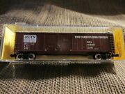 Atlas 3602 50' Double Door Box Car Family Lines System 614195 N Scale Mib