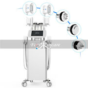 6 In 1 Cavitation Cooling Cool Vacuum Rf Radio Frequency Fat Removal Machine Spa