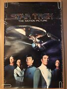 Original Vintage Star Trek Generations Poster Pin-up The Motion Picture 1979