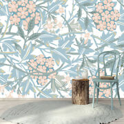 Pastel Flowers Wallpaper Removable Floral Mural Peonies Self Adhesive Decor Km94