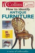 How To Identify Antique Furniture By Anon Book The Fast Free Shipping