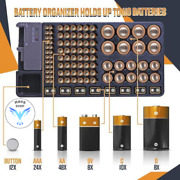 Buy 2 Free Shipping - Battery Organizer With Energy Tester ® [premium Quality]