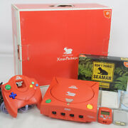Dreamcast Seaman Xmas Package Console System Limited Free Shipping Sega 4025