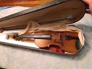 Vintage Paganini Violin Found Stashed In Old House Concert