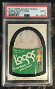 1974 Topps Wacky Packages L'oggs Panty Hose 7th Series Psa 9 Mint Non-sport Card
