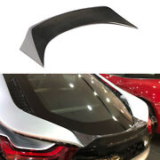 Fits Bmw I8 Coupe 2014-2018 Rear Trunk Spoiler Tail Boot Wing Dry Carbon Fiber
