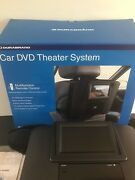 """Car Dvd Theater System 6.5"""" Durabrand Widescreen Remote Anti-shock System"""