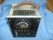 Antique Western Electric Telephone Pbx Switching Line Tester Switching J54701a