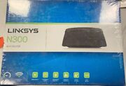 Linksys N300 Wi-fi Wireless Router With Linksys Connect Including E1200 - New