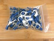 50 Ancor Marine Grade Blue 5/16 Ring End Terminals For 16-14 Ga. Wire