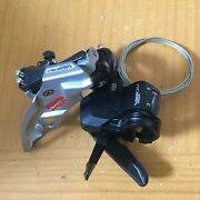 New Shimano Acera Fd-m390 Front Derailleur + Sl-m390 Front Shifter + Cable Combo