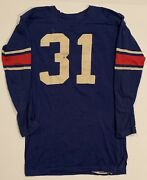 Superb Antique 1950's Us Military Special Servies Used Football Jersey Vintage