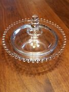 Imperial Candlewick Scarce 6 1/2 Covered Candy Dish 400/259 1940s