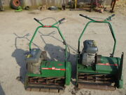 Ransomes 61 Matador And Marquis Petrol Lawn Mowers With Kubota Engines