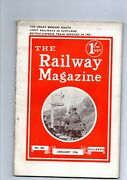 The Railway Magazine 1936 [9 Loose Issues]