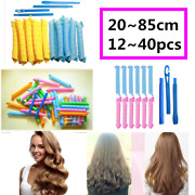 2585cm 1240pcs Magic Curlers Long Hair Spiral Curl Formers Leverage Rollers