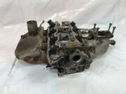 Fiat 124 Spider 132 1756cc Head W/ Exhaust And Intake Manifold 134as.6c S62 Oem
