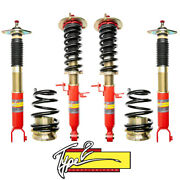 For 08-17 Infiniti G37 Function And Form Type 2 Height Adjustable Coilover Kit