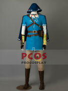 The Legend Of Zeldabreath Of The Wild Link Cosplay Costume Mp003467