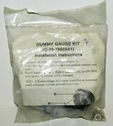 New Quicksilver Marine Boat Dummy Gauge Cover Kit Part No. 79-79889a1