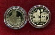 Romania 50 Bani 2019 Pope Francis Visit Romania,limited Edition Proof Coin
