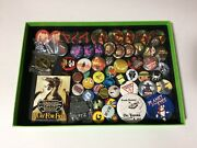 57 Pin Back Buttons 2 Lapel 1 Key Ring Gaming Promo Dnd Misc