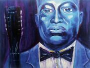 Leadbelly Blues New Orleans French Quarter Print Music Blues Richard Lewis