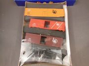 Ho Scale Athearn Special Edition Central Of New Jersey Box Car 3-pack Kit
