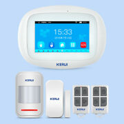 K52 4.3 Inch Wifi Gsm Home Security Alarm System Wireless Accessories Lot Kit
