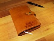 Leather Journal Australian Handmade Personalized Custom Diary,book Cover A6 Gift
