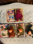 new Unopened Complete Set Of 11 Ty Teenie Beanie Babies In Boxes Mcdonalds 2000
