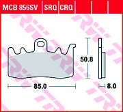 Trw Rq Front Brake Pads Mcb856crq Aprilia Caponord 1200 Travel Pack Abs 2015-16