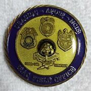 Authentic Cid Criminal Investigation Task Force Iraq Ncis Rare Challenge Coin