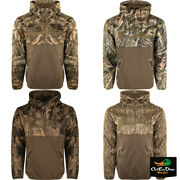 New Drake Waterfowl Mst Endurance 1/4 Camo Hoodie Pullover