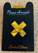 Pinny Arcade Pax South 2016 Limited Edition Cross Pin Polygon Le Yellow Aus