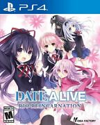 Date A Live Rio Reincarnation For Playstation 4 [new Video Game] Ps 4