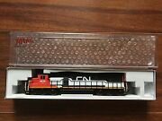 Atlas 1/160 N Scale Sd-60 Canadian National Rd 5414 Nce For Dcc 40002060 F/s