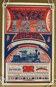 Original Vintage Poster Lsd Railroad Psychedelic Headshop Pin-up Take A Trip 60s