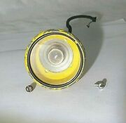 Yellow Painted Die Cast American Flyer Searchlight From Erie Floodlight Cars