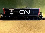 Atlas 1/87 Ho Scale Cn Canadian National Gp-7 Rd 4801 Dcc And Sound 10002038 Fs