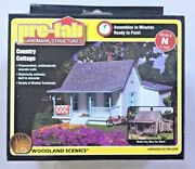 Woodland Scenics 1/160 N Scale Country Cottage Pre Fab Building Kit Pf 5206 F/s