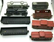 Lot Of 8 Lionel And Afl Train 484, 6462, 3017, 551, 6025, 920, Sunoco Free Ship