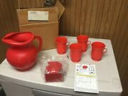 Kool-aid Drink1998 Mail Away Pitcher And Mug Set Unused In Mail Away Box Look