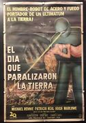 The Day The Earth Still Stood Original Argentina Poster 1951
