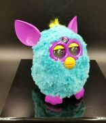 Vtg 2012 Teal And Purple Interactive Tested And Works Furby Boom  19